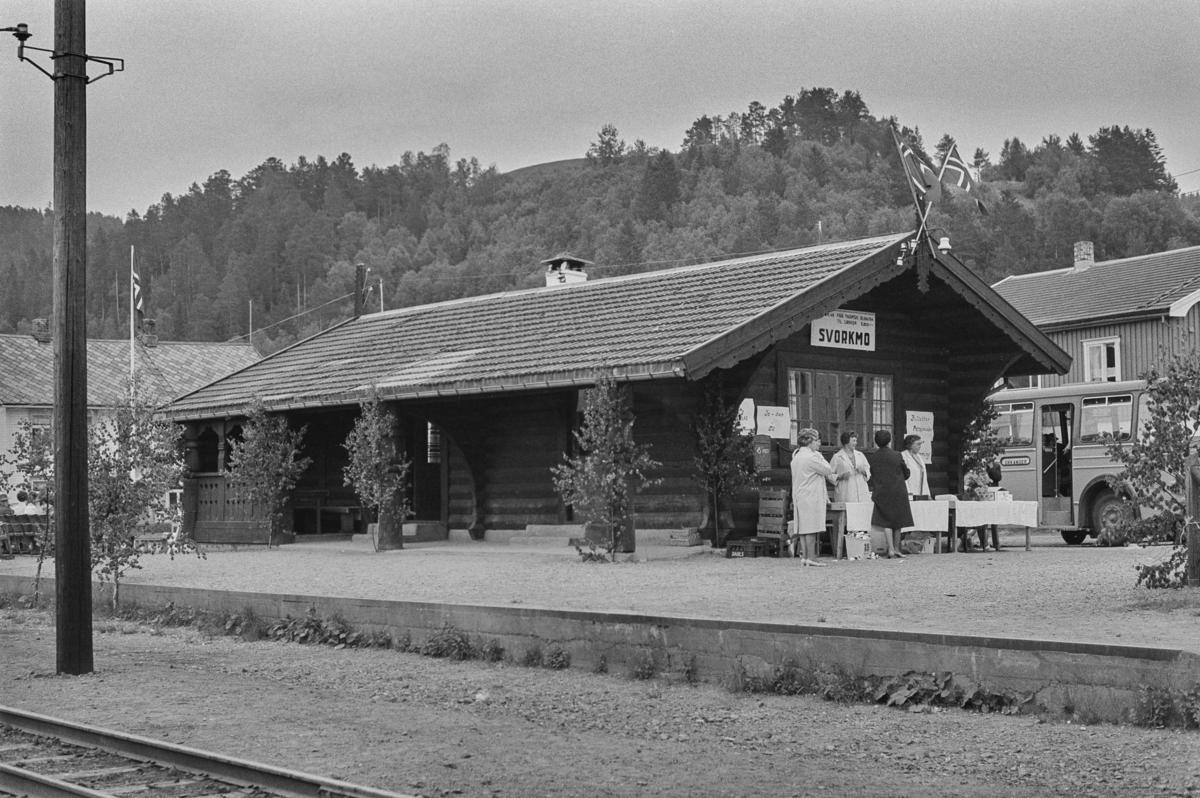 Svorkmo stasjon på Thamshavnbanen.