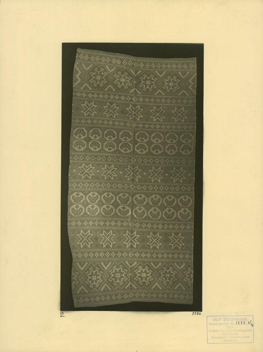 Täcke i röllakan