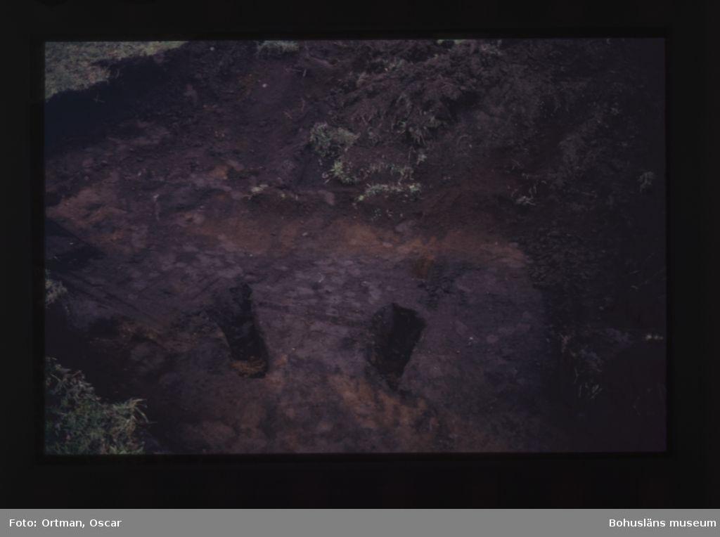 Förundersökning Norum 159 schakt 1 gravränna, fotograferat från sydväst Fotograferat från sydväst