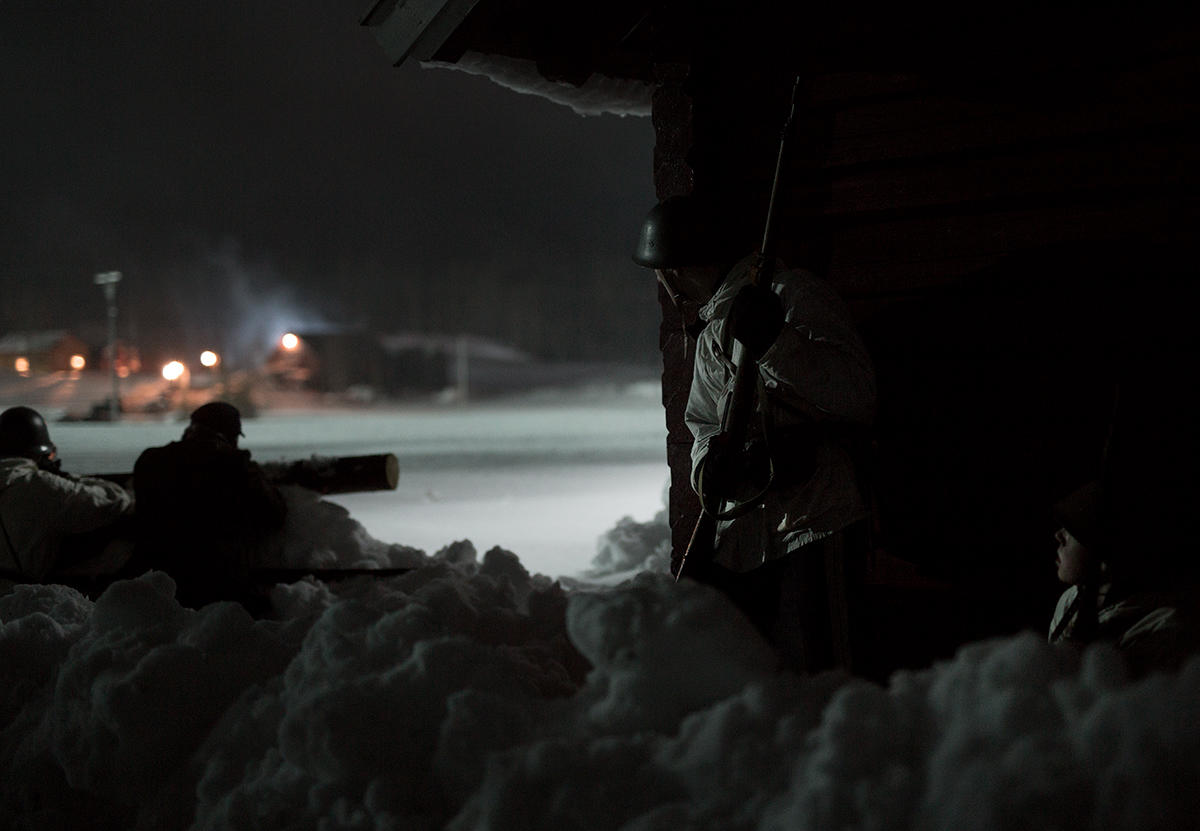 Kampene på Midtskogen er en mindre  trefning militært sett, men er av strategisk betydning for nasjonen Norge. Foto: Agnete Brun/Paradox.