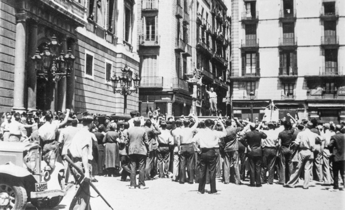 Tale, militsen, Barcelona