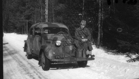Suneson, styckjunkare, A 6. Marsch mot Jönköping.