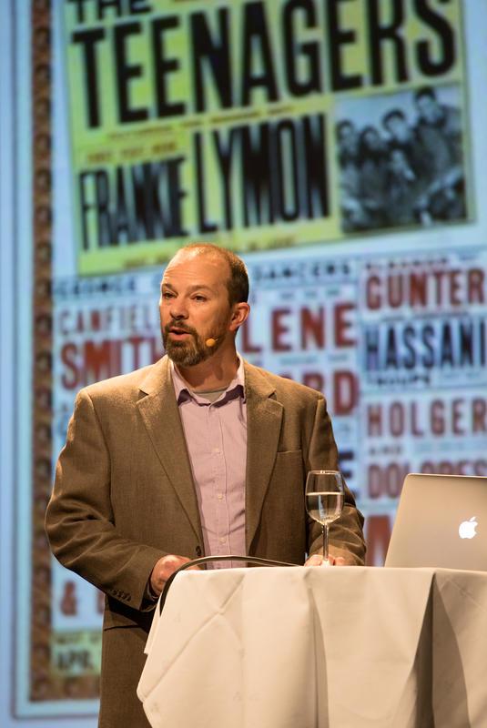 Andrew Flory på Rockheim. Foto: Rockheim/Elise Maalø Reksen. (Foto/Photo)