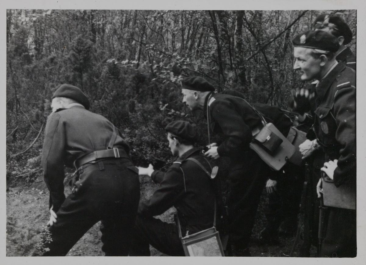 Bildet er en kopi hentet fra album H i Utrykningspolitiets fotosamling