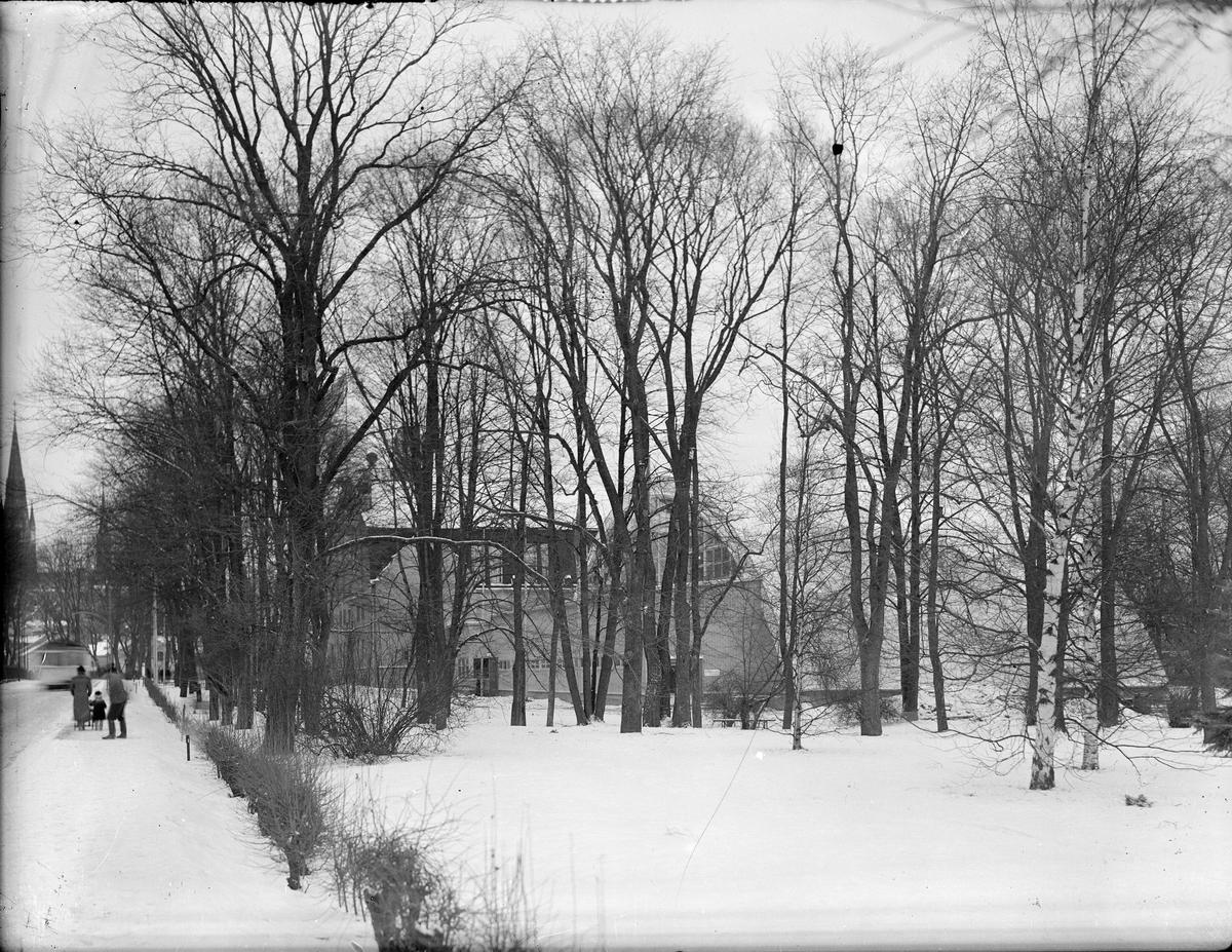 Tennishallen och Gymnastikinstitutionen Svettis, Sjukhusvägen, Uppsala 1937