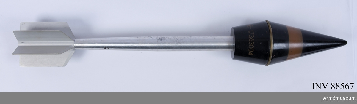 9 cm spårljusövningsprojektil m/1962