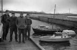 """""""april 1969"""".Båten står utstilt på fiskerimuseet, det er en"""