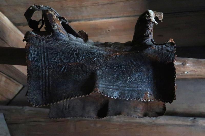 Sal i loft fra Ose, Setesdal, Norsk Folkemuseum. Foto: Astrid Santa, Norsk Folkemuseum.