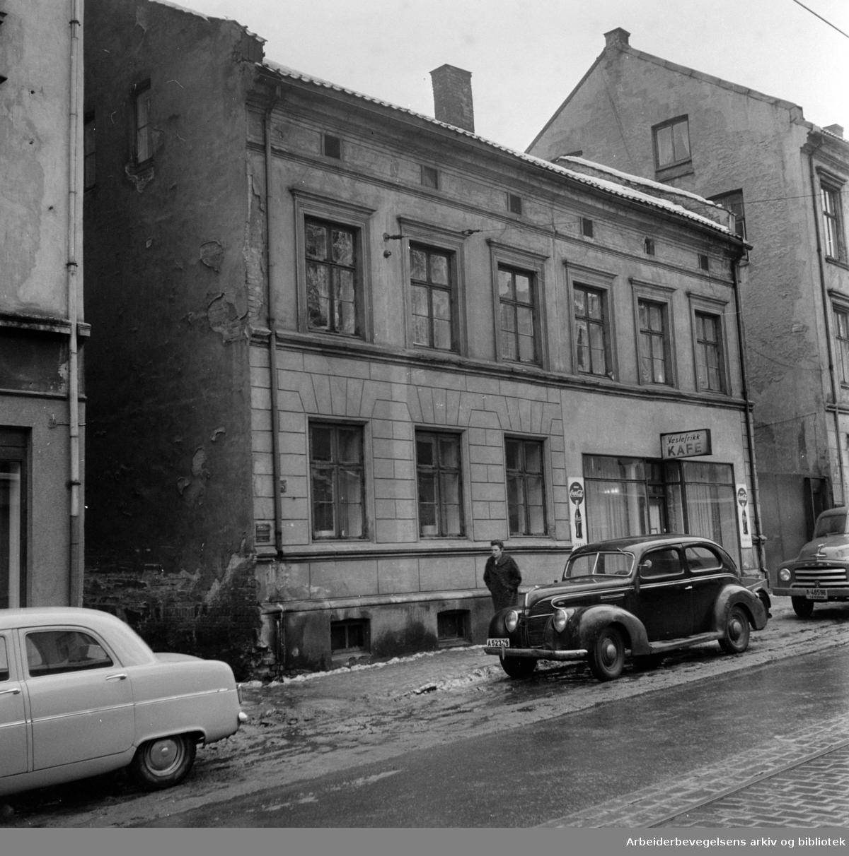 Pilestredet 35. Januar 1958
