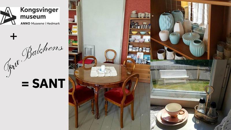 Kongsvinger museum + Fru Balchens = sant