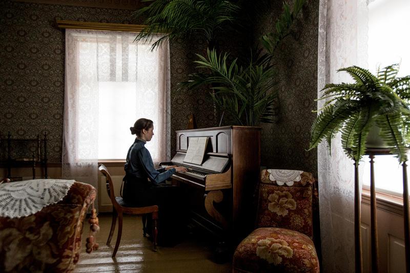 Pianospill i Hjørnestuen fra mai 2018. Foto: Jan Ove Iversen (Foto/Photo)