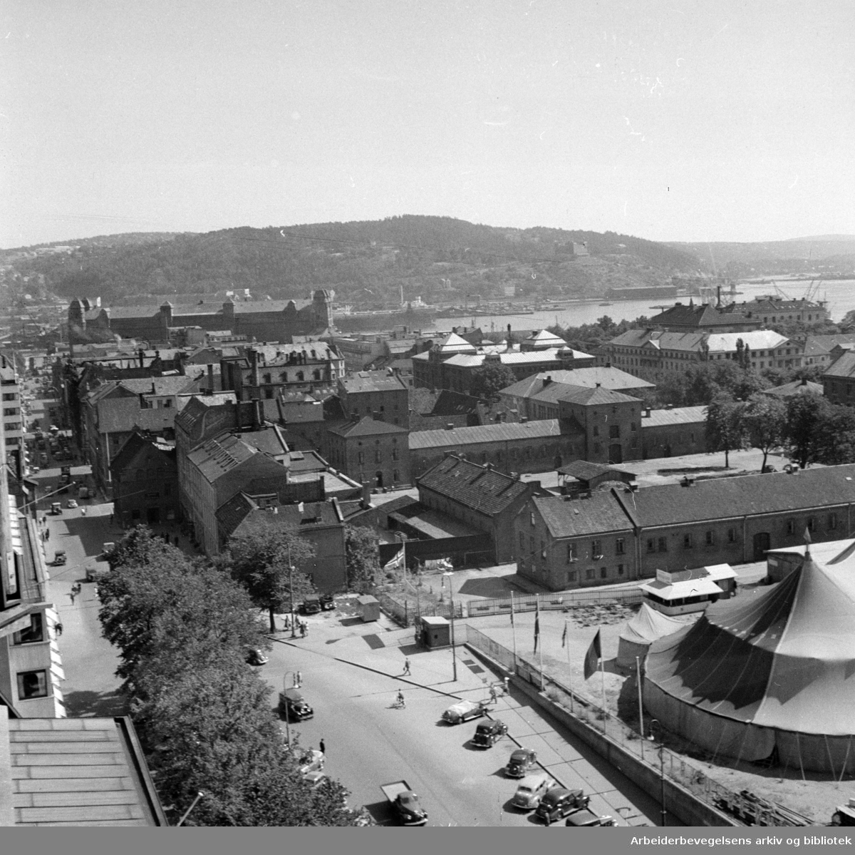 Kontraskjæret, (Skansen). Juli 1948