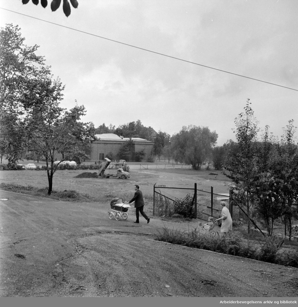 Frognerparken. September 1963
