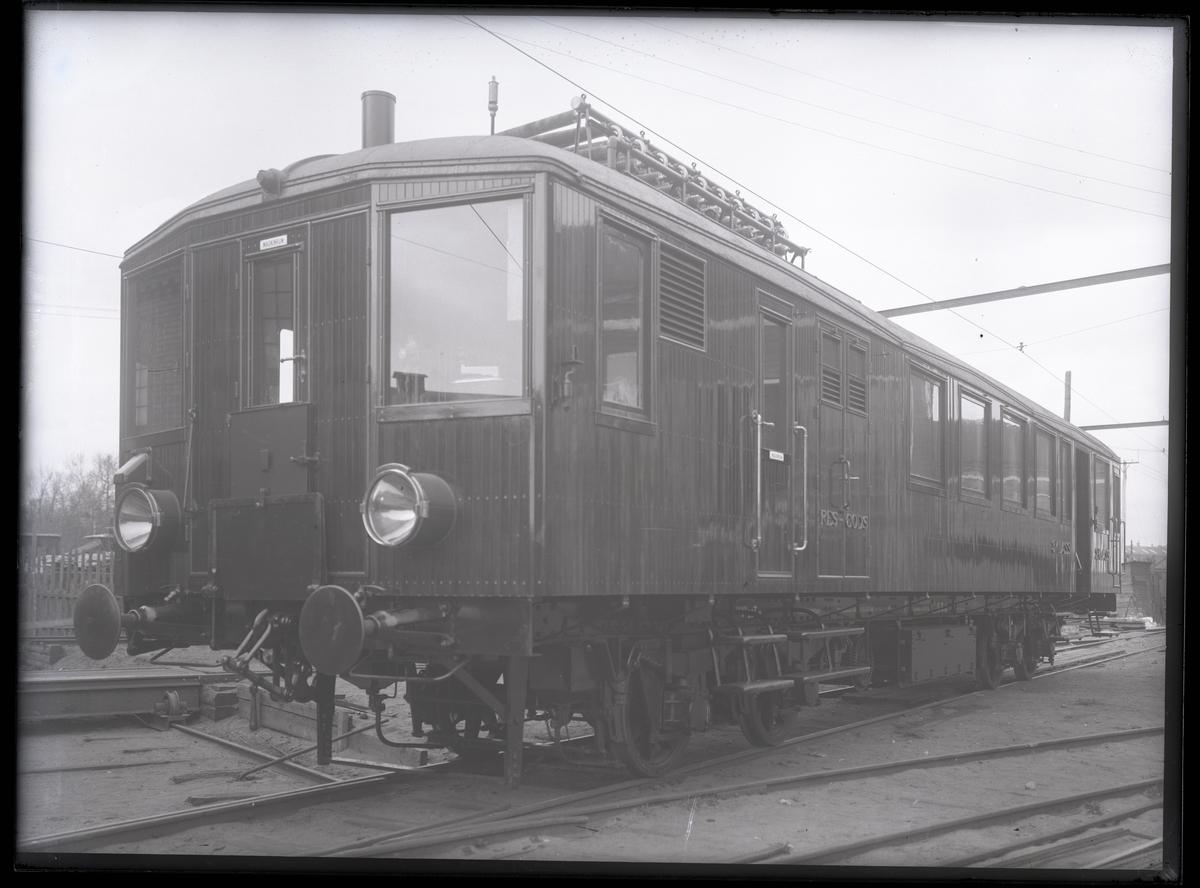 Diesel-elektrisk vagn för SSJ. Tillverknings år: 1915.