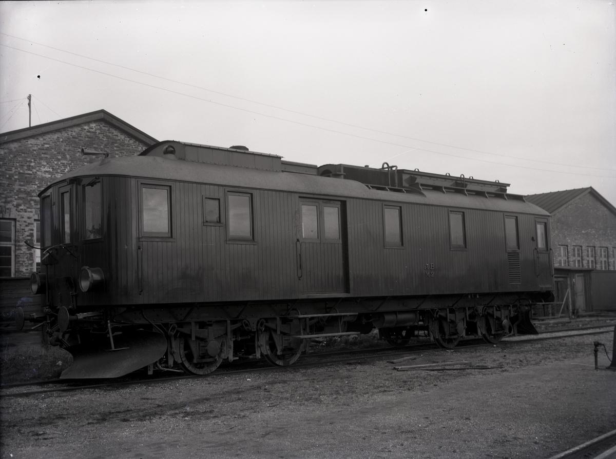 Diesel-elektrisk vagn för AB, Danmark. Tillverknings år: 1924.