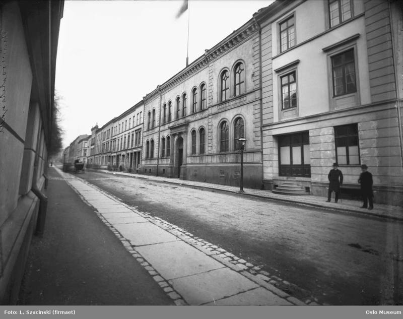 Universitetsgata 26, ca. 1890.