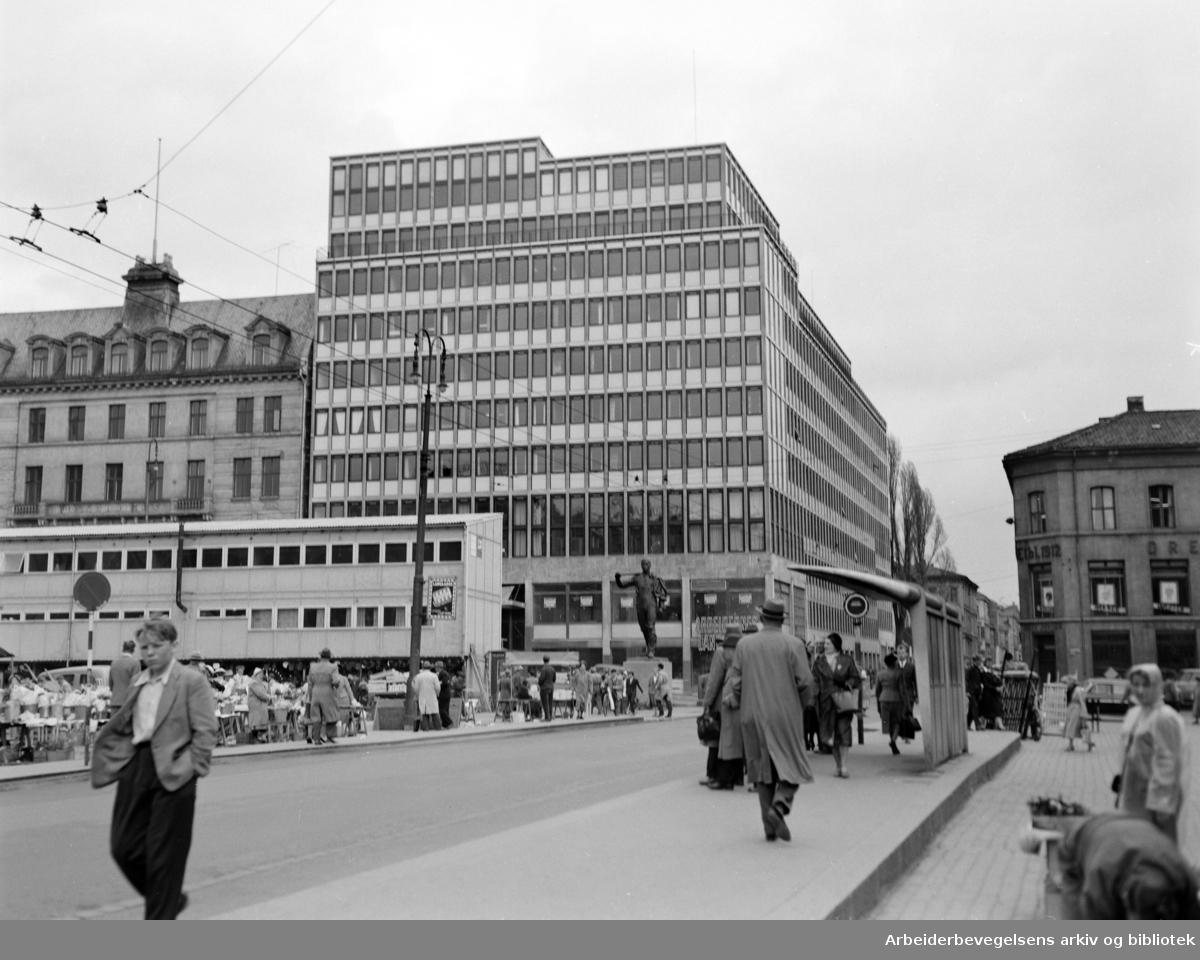 Folkets Hus. Mai 1958