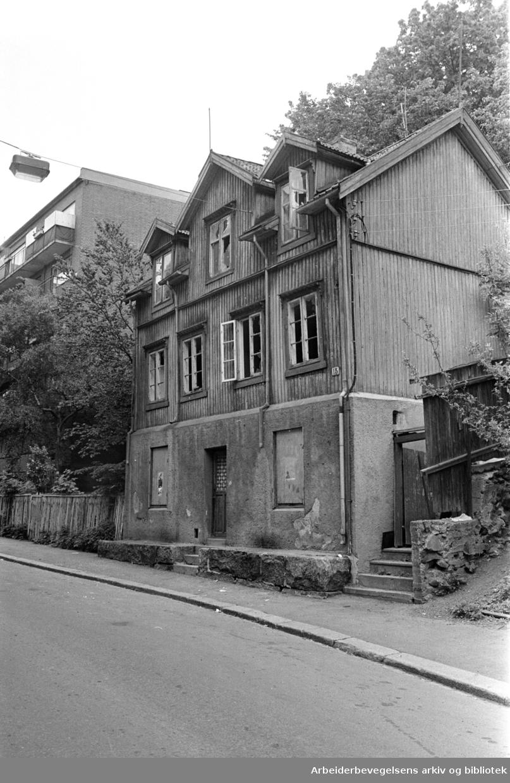 Brinkensgate. Brinken. Juni 1976