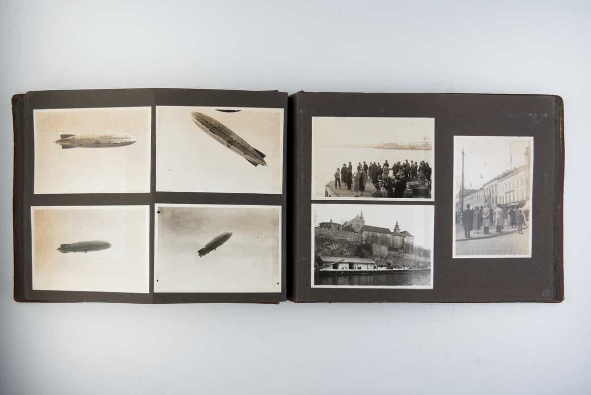 Fotografier fra Roald Amundsens 'Norge'-ferd og hjemreisen med D/S 'Bergensfjord'.