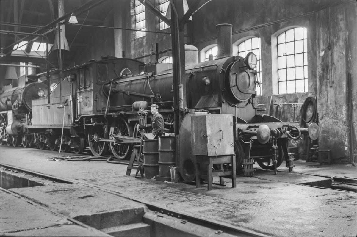 Damplokomotiv type 27a nr. 248 i Lodalen i Oslo.