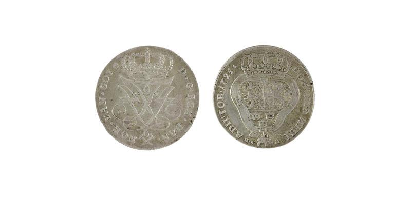 Mynt fra 1725