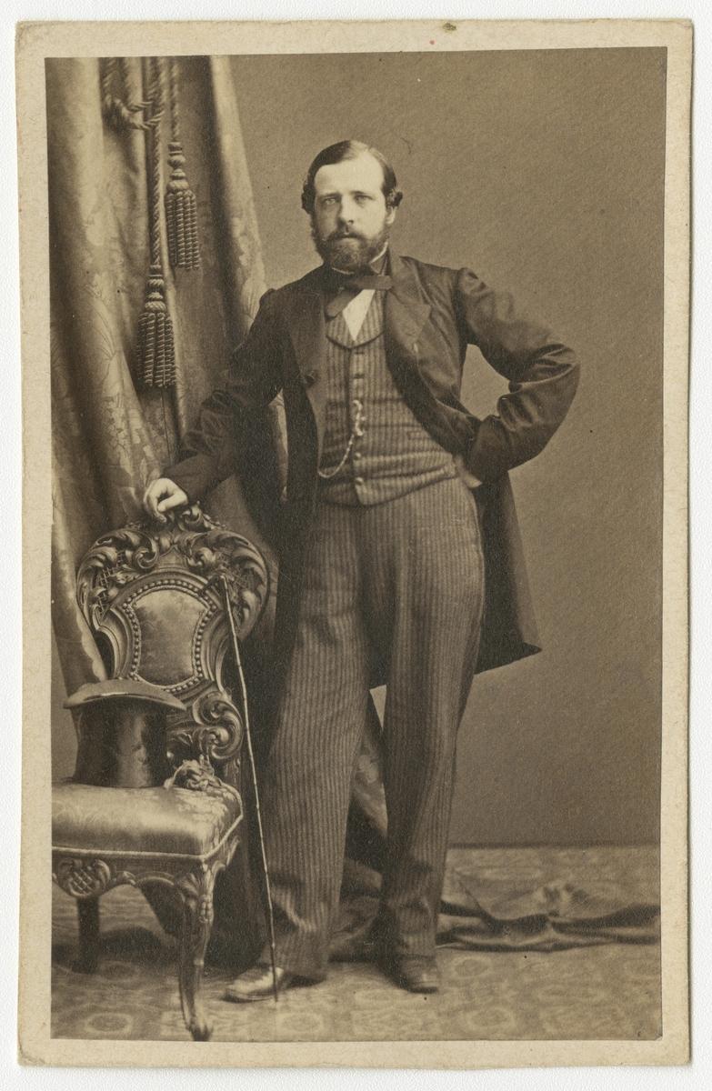 Porträtt av friherre John Philip Ericson, officer vid Västgöta regemente I 6.