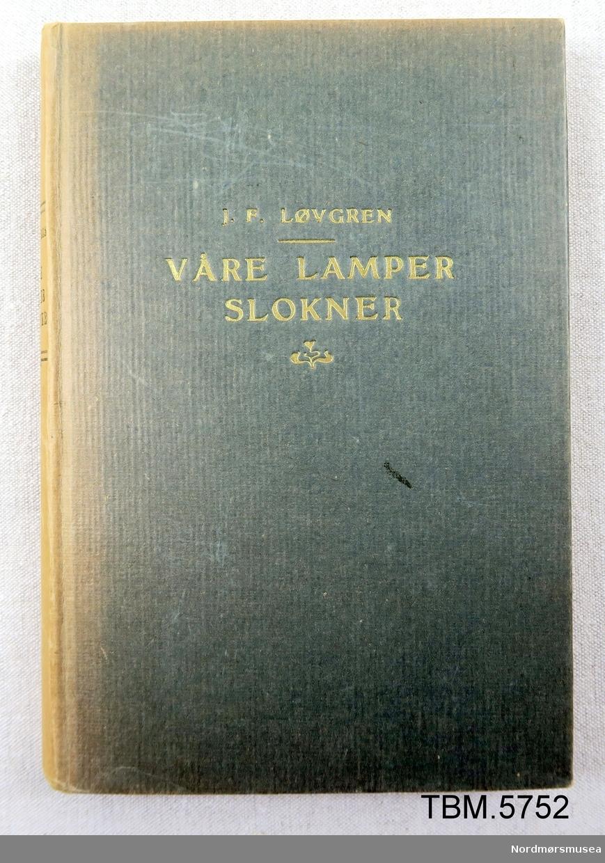 Bok i stivt papirbind. 332 sider EX Libris  Vonheim Tuberkulosheim