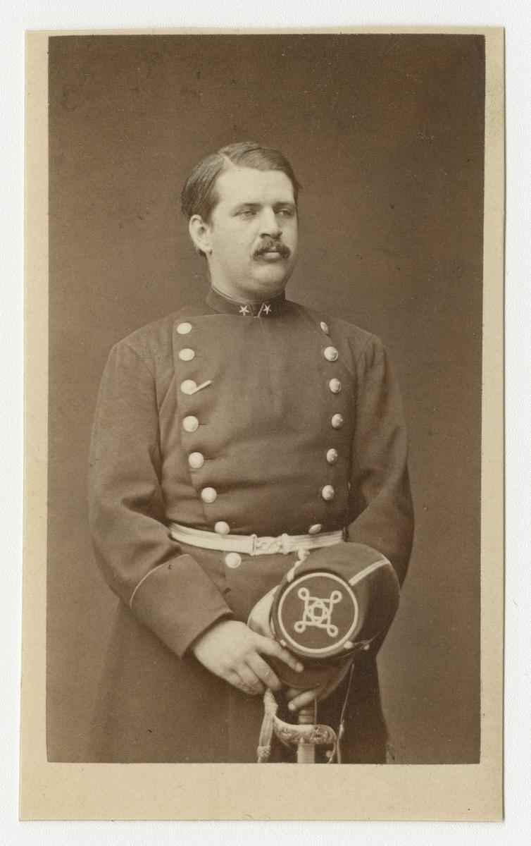 Porträtt av underlöjtnant Strokirch.