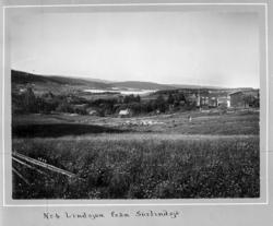 Gamla bilder från Attmar och Sörfors 1902. Originalfoto av f