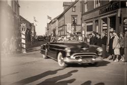 Bilkortesje i Rikard Kaarbøs gate.