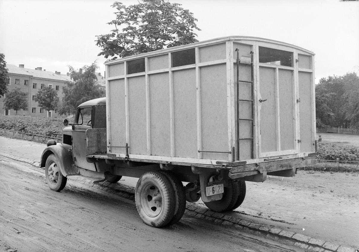 Sykebil fra Det Sivile Luftvern