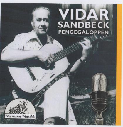 Vidar Sandbeck CD nr. 5 Pengegaloppen (Foto/Photo)