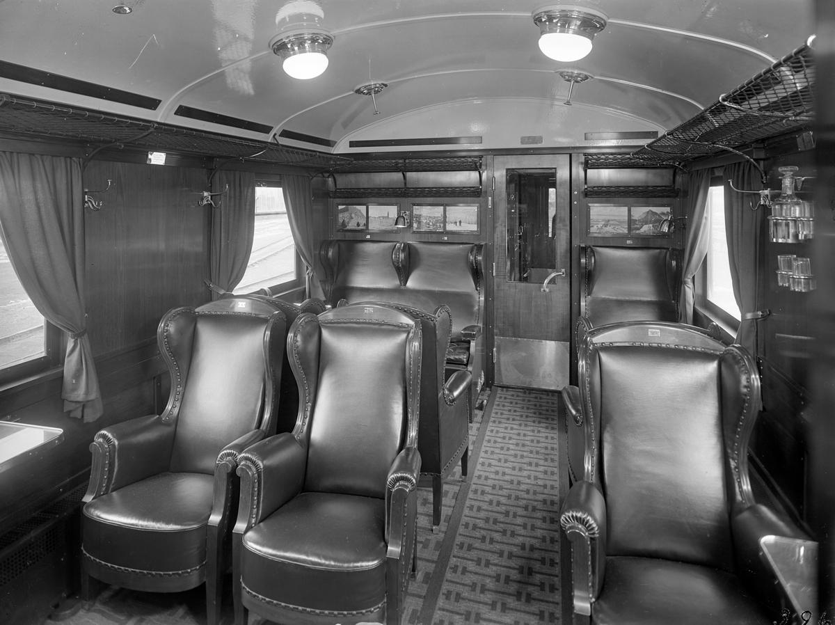 Statens Järnvägar, SJ BCo9 2698. Vagn byggd i Kalmar 1927. Vattenkaraff.