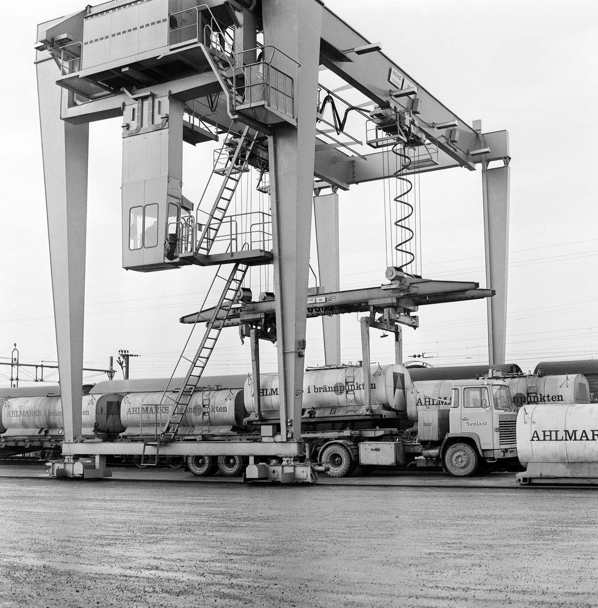 Salpetersyra - containertransport mellan Ör och Gyttorp