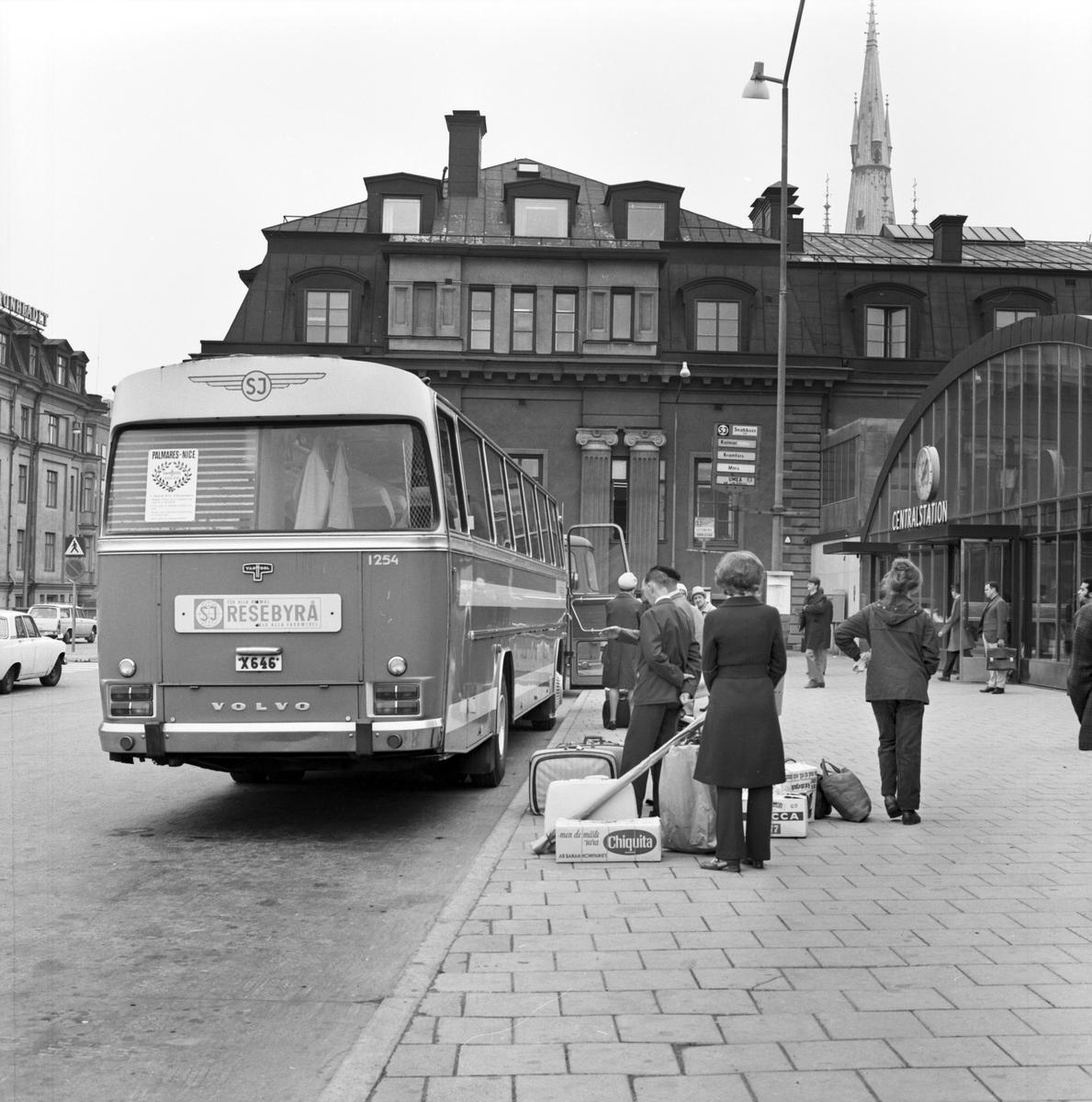 SJ, Statens Järnvägars bussterminal, Klarabergsviadukten