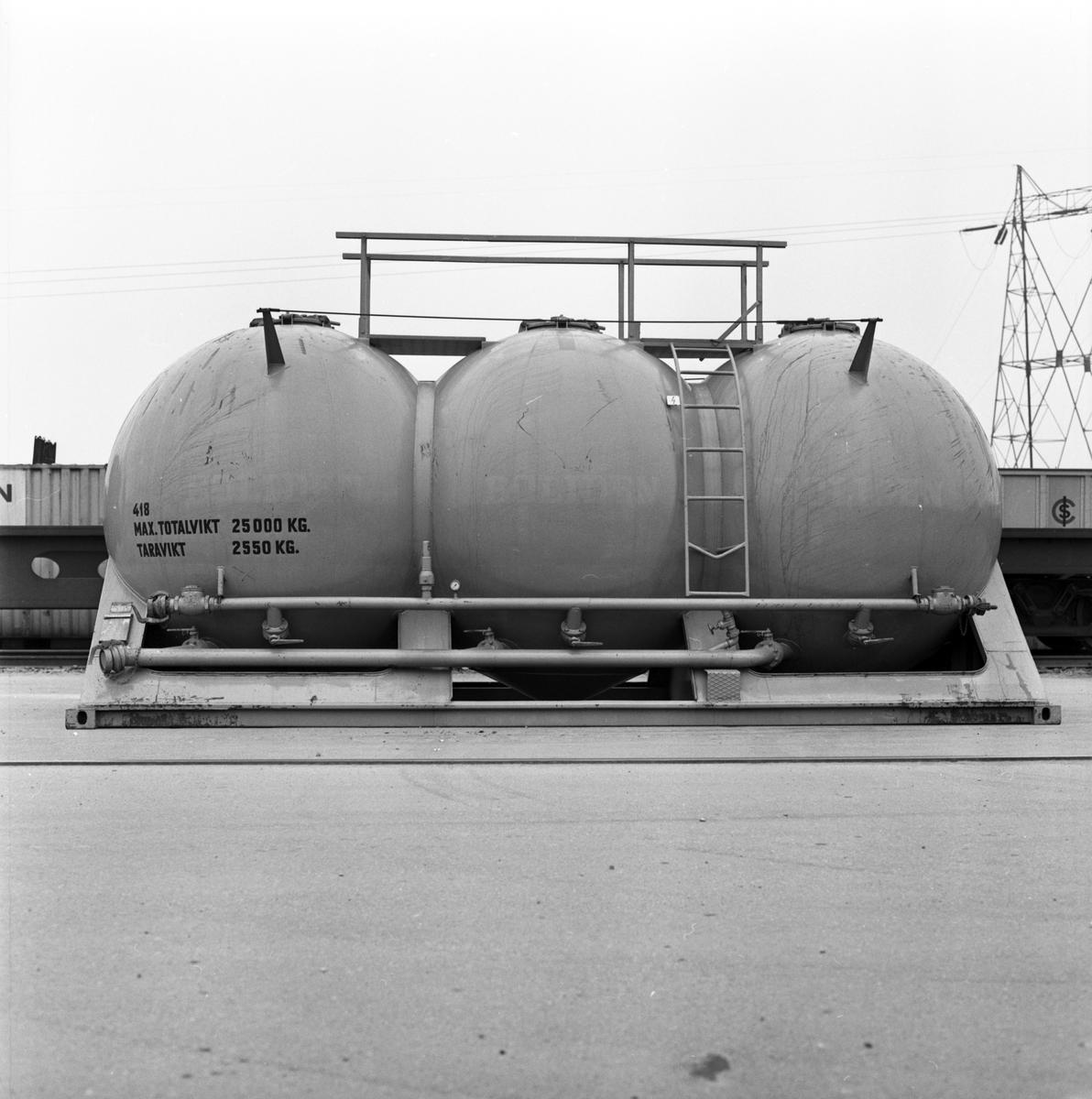Pulvercontainer, Årstaterminalen