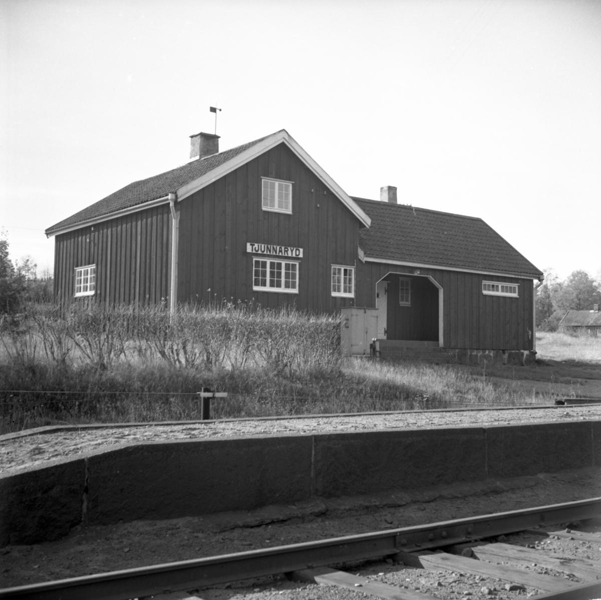 Tjunnaryd station
