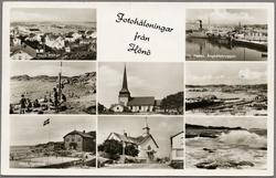 Flerbildsvykort från Hönö.