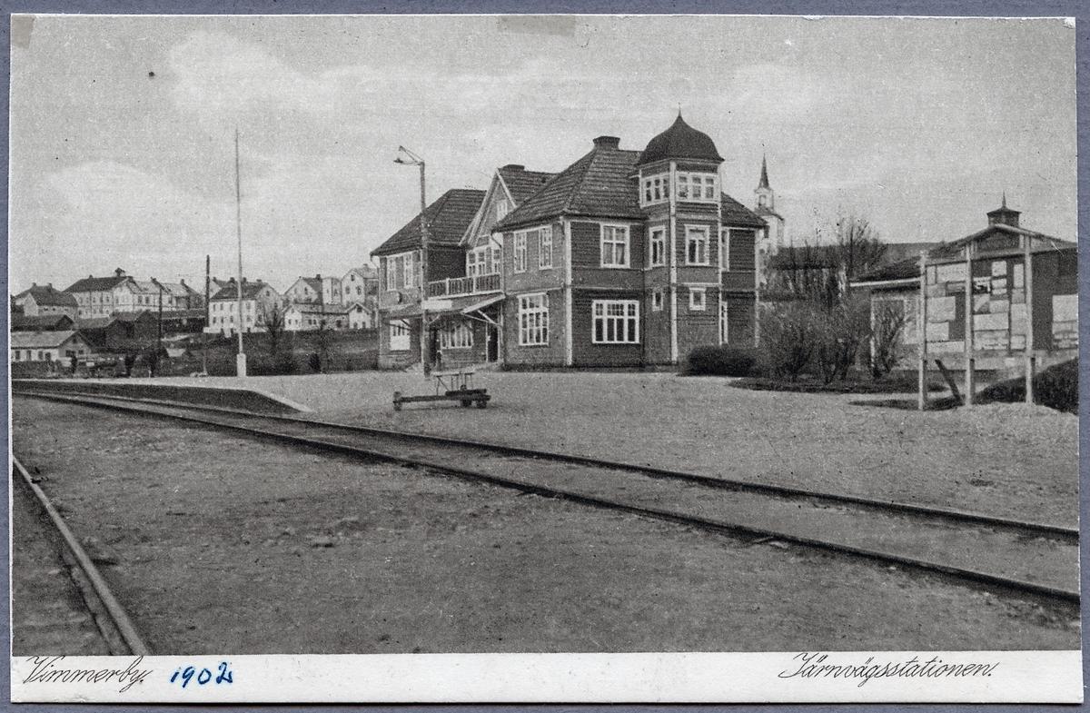 Stationshuset i Vimmberby.