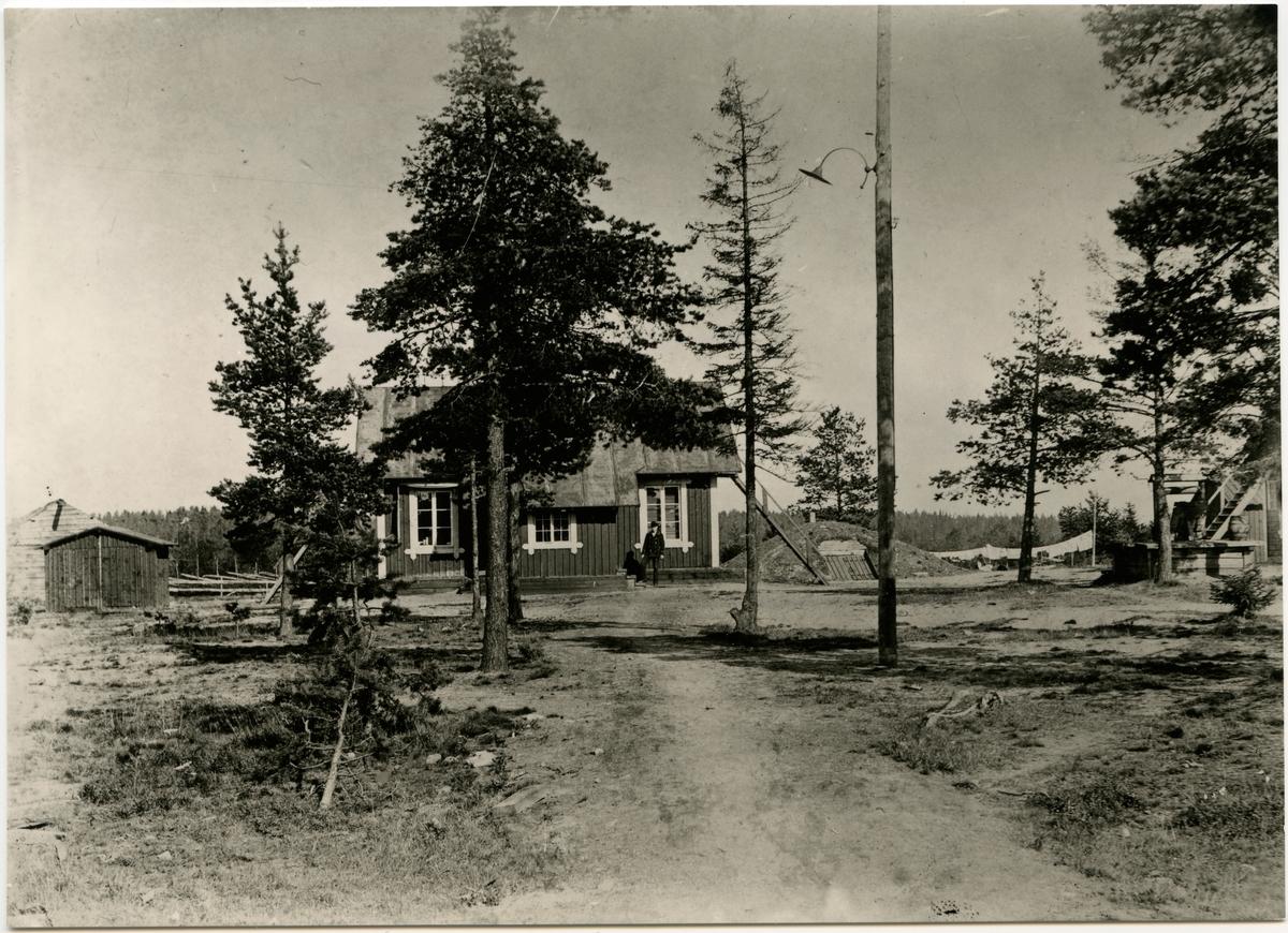 Kontorsbyggnaden för maskinavdelningen