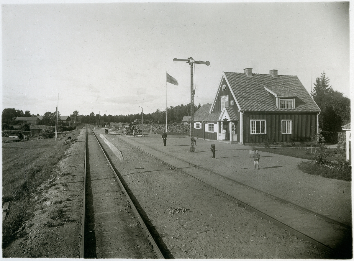 Rångedala station.