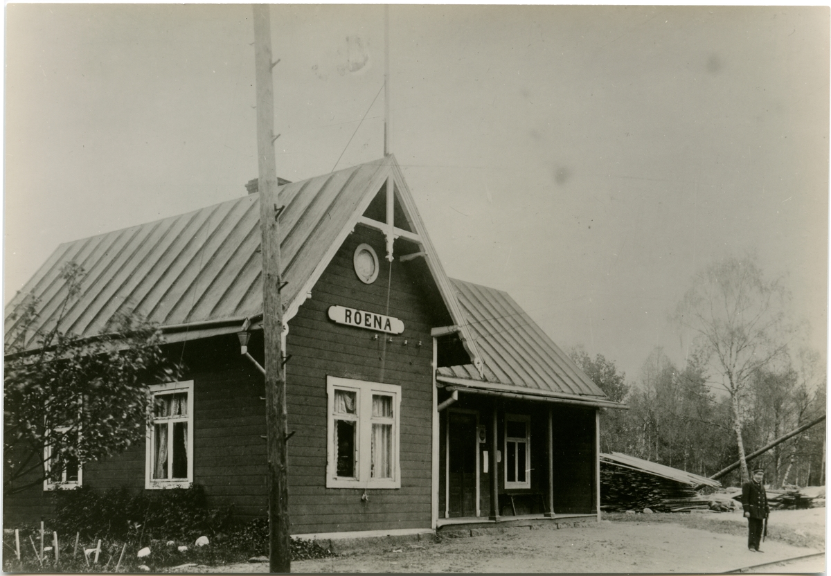 Röena station.