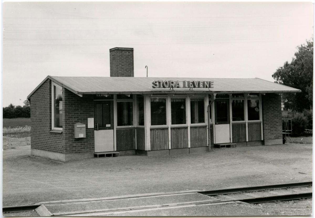 Stora Levene station.