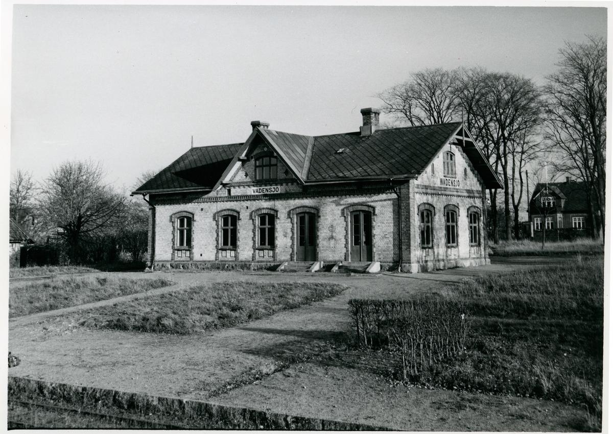 Vadensjö station Nedläggning av bandelen Billesholm-Landskrona 29.5.1960