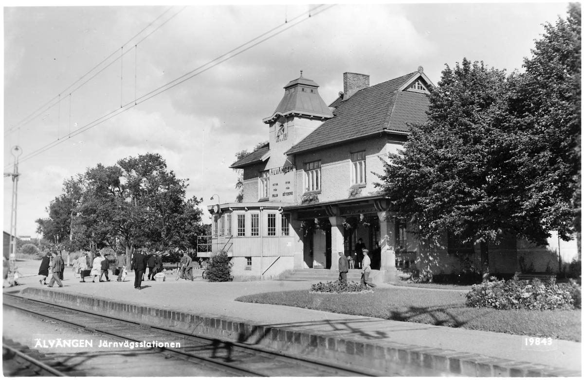 Älvängen station.