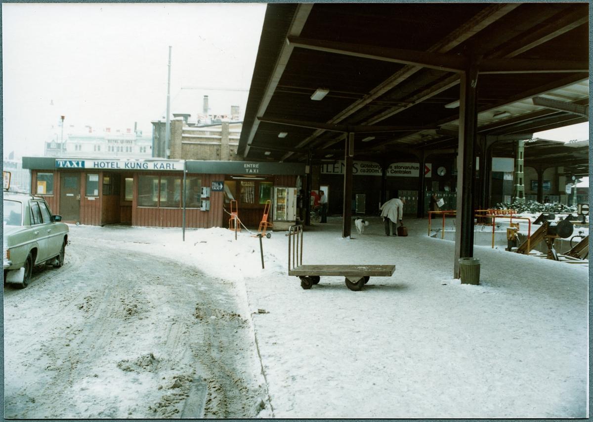 Göteborgs centralstation, exteriör