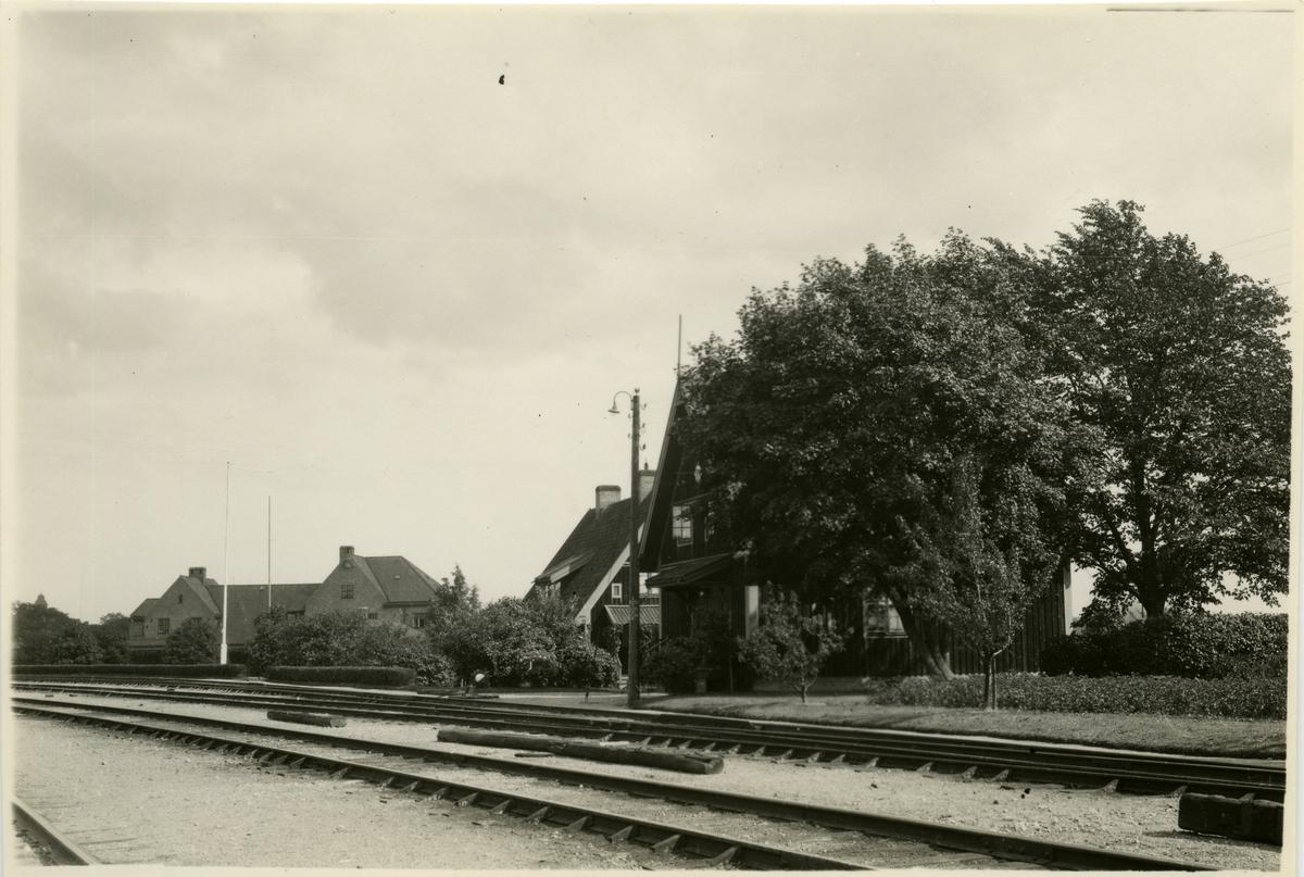 Bostadshus och stationshus
