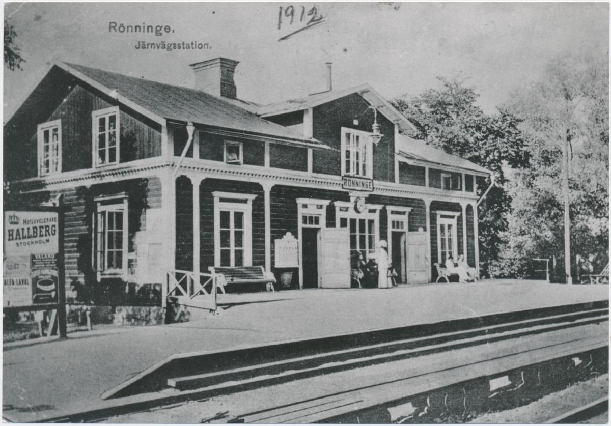 Rönninge station.