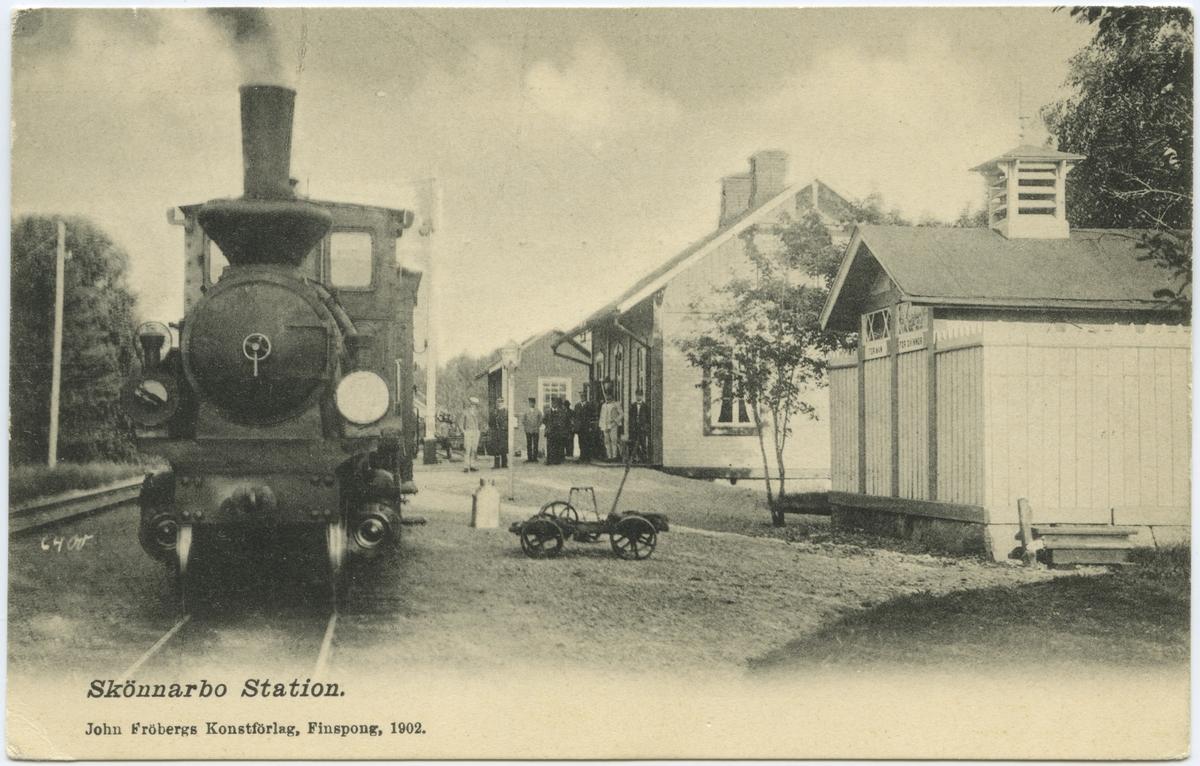 Skönnarbo station.