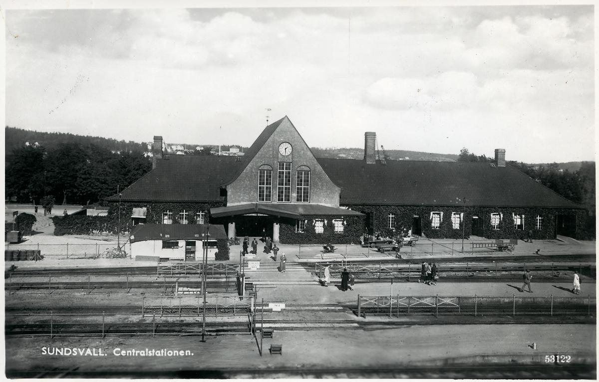 Sundsvall station.